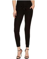 The Kooples - Fleece Trousers With Lace On The Sides - Lyst
