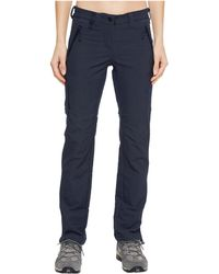 Jack Wolfskin - Activate Sky (midnight Blue) Women's Casual Pants - Lyst