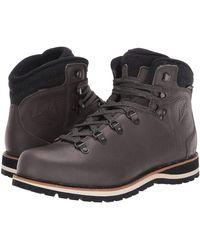 best value pretty cool cozy fresh Lowa Leather Glasgow Ii Gtx(r) Mid (black/beige) Boots for Men - Lyst