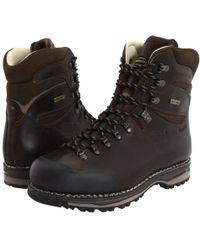 Zamberlan - Sella Nw Gt Rr (waxed Dark Brown) Men's Boots - Lyst