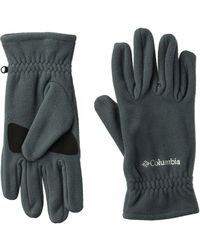 Columbia Fast Trektm Gloves - Gray
