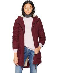 Volcom - Walk On By Parka (burgundy) Women's Coat - Lyst