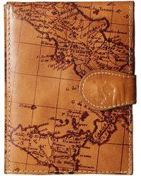 Patricia Nash Passport Case - Brown