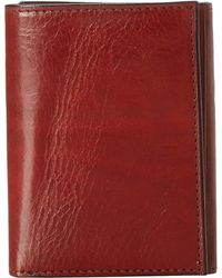Bosca - Old Leather Collection - Trifold Wallet - Lyst