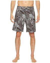 Captain Fin - Swirl Derby Boardshorts (black) Men's Swimwear - Lyst