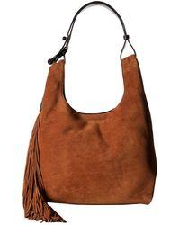 c08bfc4c53 Rebecca Minkoff - Karlie Fringe Hobo (saddle) Hobo Handbags - Lyst