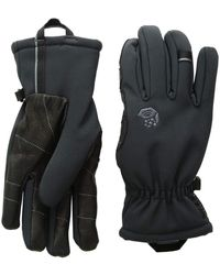 Mountain Hardwear - Torsion Insulated Glove (black/black) Extreme Cold Weather Gloves - Lyst