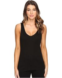 Michael Stars - Shine Double Front V-neck Tank Top - Lyst