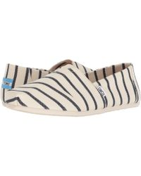 TOMS - Venice Collect Heritage Stripe Women's In White - Lyst