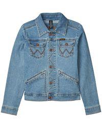Wrangler Retro Premium Jacket - Blue