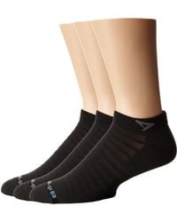 Drymax Sport - Hyper Thintm Running V4 Mini Crew 3-pair Pack (black) Low Cut Socks Shoes - Lyst