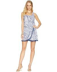 Lilly Pulitzer - Jarrett Romper (bright Navy Pineapple Party) Women's Jumpsuit & Rompers One Piece - Lyst