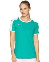 PUMA - Liga Jersey (pepper Green/ White) Women's Sweatshirt - Lyst