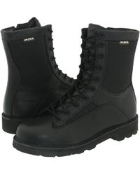 Bates - 8 Durashocks(r) Lace-to-toe Side Zip (black) Men's Work Boots - Lyst