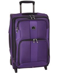 Delsey - Sky Max Expandable 2-wheel Carry-on (purple) Luggage - Lyst