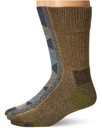 Dr. Scholls Advanced Relief Blisterguard Casual Crew Socks- 2 Pair Pack - Gray