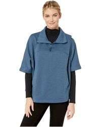 b5402876119 The North Face - Slacker Short Sleeve Poncho (tnf Black) Women s Coat - Lyst