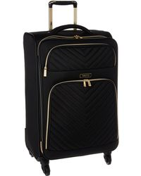 Kenneth Cole Reaction - Chelsea - 24 Quilted Expandable 4-wheel Upright Pullman (black) Luggage - Lyst