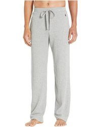 Polo Ralph Lauren - Midweight Waffle Solid Pajama Pants - Lyst