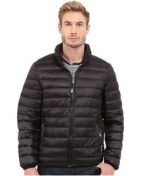 Tumi - Patrol Packable Travel Puffer Jacket (black) Men's Coat - Lyst
