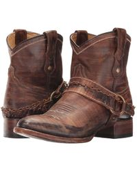 Roper - Selah (vintage Leather/harness & Chain) Cowboy Boots - Lyst