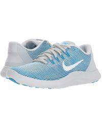 Nike - Flex Rn 2018 (blue Force/white/ocean Bliss/smokey Blue) Women's Running Shoes - Lyst
