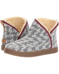 Sanuk Nice Bootah (grey Arrowooly) Boots - Gray