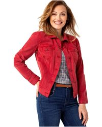 Liverpool Jeans Company Jean Jacket - Red