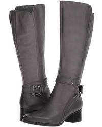 3ef20e7604a2 Lyst - Naturalizer Dane Knee High Riding Boot in Black - Save ...