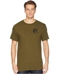 Todd Snyder - Back Graphic Tee (olive) Men's T Shirt - Lyst