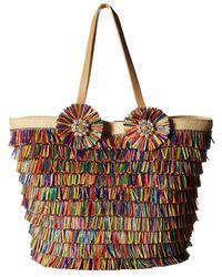 Betsey Johnson - Tiki Time Tote (multi) Tote Handbags - Lyst