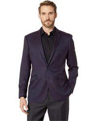 Kenneth Cole Reaction - Textured Sport Coat (burgungdy Texture) Men's Jacket - Lyst