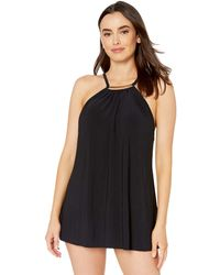 Magicsuit - Solid Parker Swimdress One-piece - Lyst