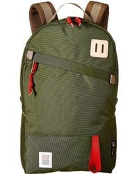 Topo Daypack Backpack Bags - Green