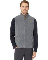 L.L. Bean Mountain Classic Fleece Vest - Gray