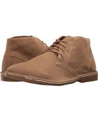 Nunn Bush - Galloway Plain Toe Chukka Boot (tan Chamois) Men's Lace Up Casual Shoes - Lyst