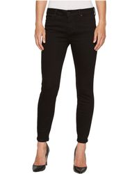 """Liverpool Jeans Company - Penny Ankle Skinny 28"""" In Black Rinse/black - Lyst"""