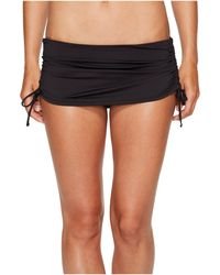 Tommy Bahama | Pearl Solids Side Shirred Skirted Hipster Bottom | Lyst