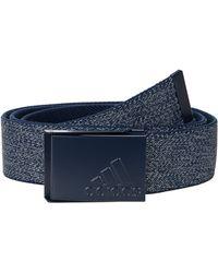 adidas Originals Heather Stretch Reversible Belt Belts - Blue