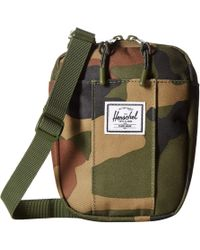 5aad9c500d9 Lyst - Herschel Supply Co. Cruz (painted Floral) Bags in Green for Men