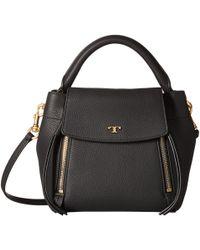 6879d1e256f2 Tory Burch - Half-moon Crossbody (birch) Handbags - Lyst