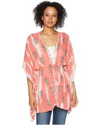 Tolani - Tamara Kimono (coral) Women's Clothing - Lyst