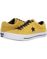 dd6ccc0daf Converse - One Star - Dark Star (almost Black) Shoes - Lyst