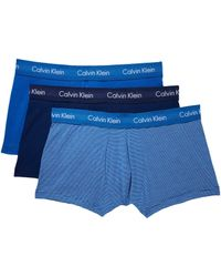CALVIN KLEIN 205W39NYC - Cotton Stretch Low Rise Trunk 3-pack Nu2664 - Lyst