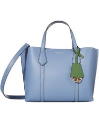 Tory Burch Perry Small Triple-compartment Tote - Blue