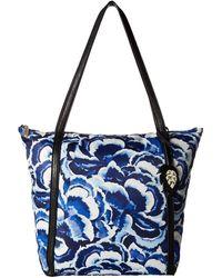 Tommy Bahama - Siesta Key Tote (pretty Petals Blues) Tote Handbags - Lyst