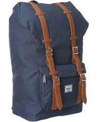 6596e23ed71 Herschel Supply Co. - Little America (black black) Backpack Bags - Lyst