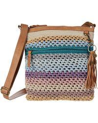 The Sak Lucia Crochet Crossbody - Blue