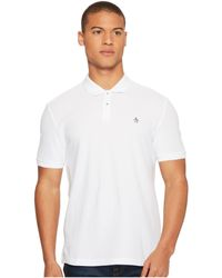 Original Penguin - Daddy-o Polo 2.0 Classic (dark Charcoal) Men's Short Sleeve Pullover - Lyst