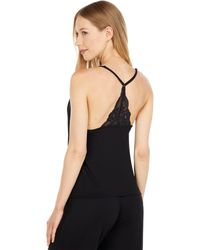 Journelle Emma Modal And Lace Cami - Black